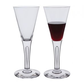 Sharon Claret Red Wine Glasses Pair