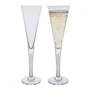 Sharon Champagne Flute Glasses Pair