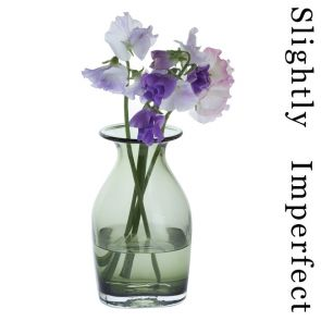 Finbarr Vase Olive Green 18cm - Slightly Imperfect
