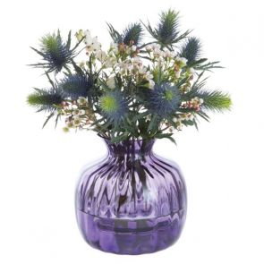 Cushion Small Vase Amethyst