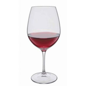 Wine Master Burgundy Red Wine Glass, Set of 2