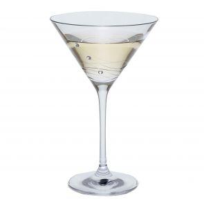 Glitz Single Martini Glass