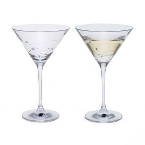 Glitz Martini Glass, Set of 2