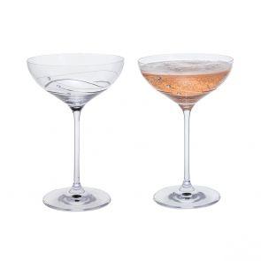 Glitz Cocktail Saucer, Set of 2