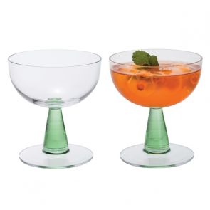 Gin Connoisseur Cocktail Pair - Green