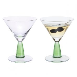 Gin Connoisseur Martini Pair - Green
