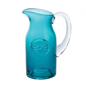 Flower Jug - Daisy/Teal Slim