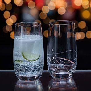 Glitz Highball Glass, Set of 2
