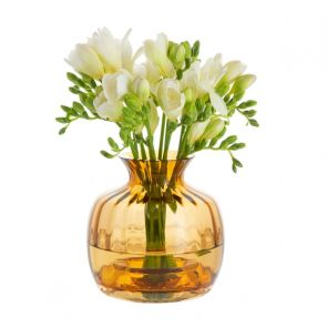 Cushion Small Vase Amber