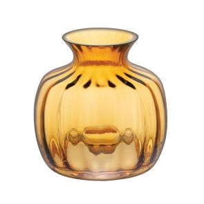 Cushion Small Vase Amber