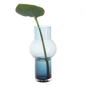 Bubble Vase Ink Blue