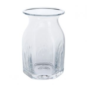 Finbarr Hexagonal Vase Clear 16cm