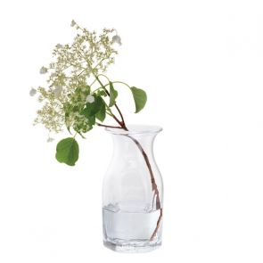 Finbarr Hexagonal Vase Clear 21cm