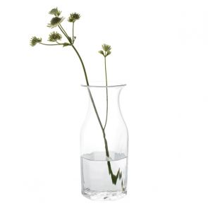 Finbarr Hexagonal Vase Clear 26cm