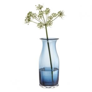 Finbarr Hexagonal Vase Ink Blue 26cm
