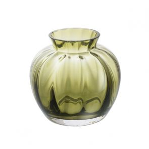 Little Treasures - Olive Optic Vase