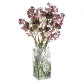 Marguerite Tall Vase Olive Green
