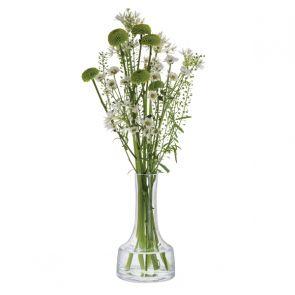 Contour Clear Low Vase