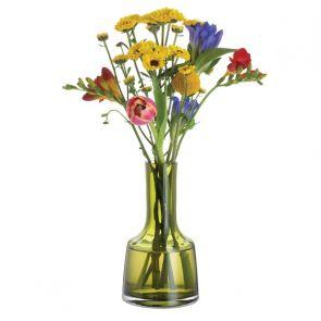 Contour Olive Green Medium Vase