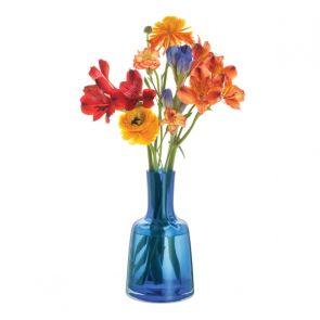 Contour Cobalt High Vase