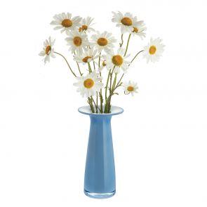 Juno Periwinkle Stem Vase