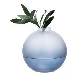 Wellness Calm Orb Vase Blue