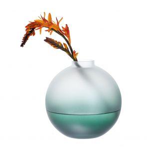 Wellness Energise Green Orb Vase
