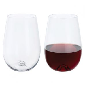 Wine & Bar Stemless Red Wine Pair