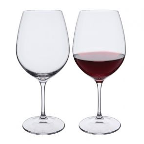 Wine Master Burgundy Red Wine Glasses