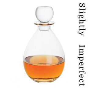 Low Whisky Decanter - Slightly Imperfect