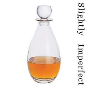 Tall Whisky Decanter - Slightly Imperfect