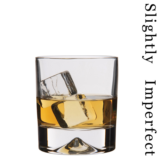 Dimple Old Fashioned Whisky Glass  Slightly Imperfect