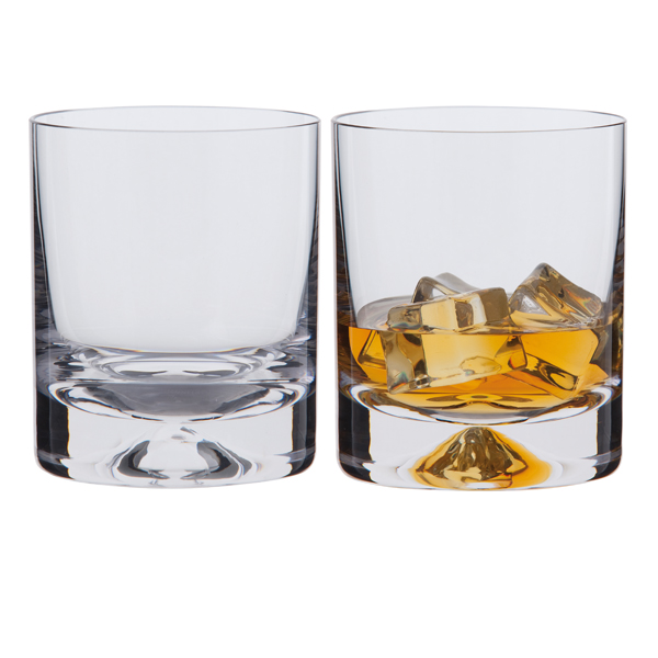 Dartington Dimple Old Fashioned Whisky Glasses