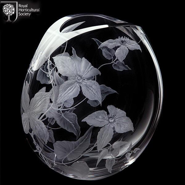 Dartington Crystal Dartington Clematis Vase (large)