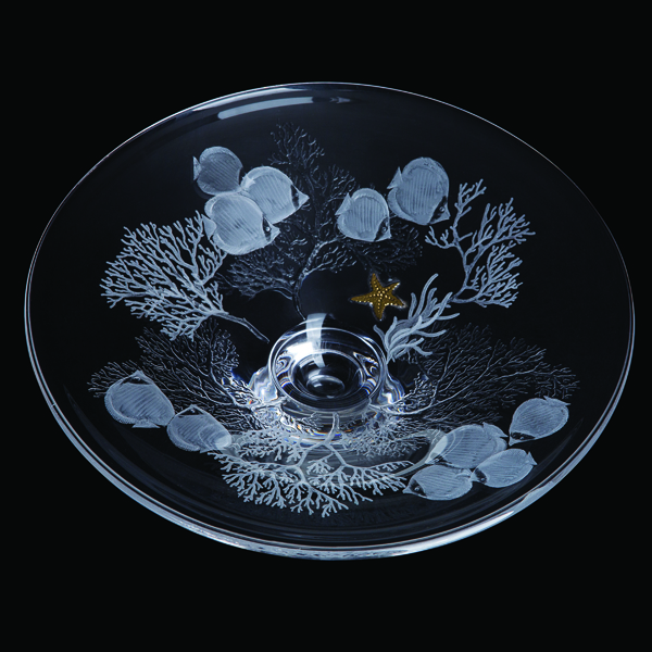 Dartington Shoal - Small Platter Ed: 25