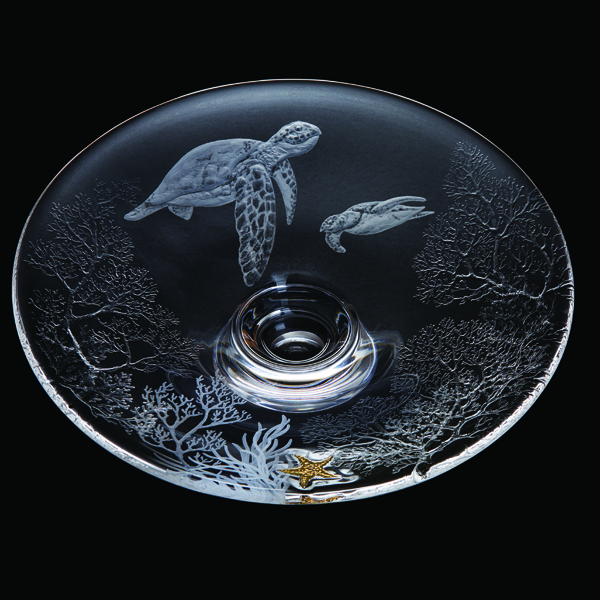 Dartington Turtles - Large Platter Ed: 10