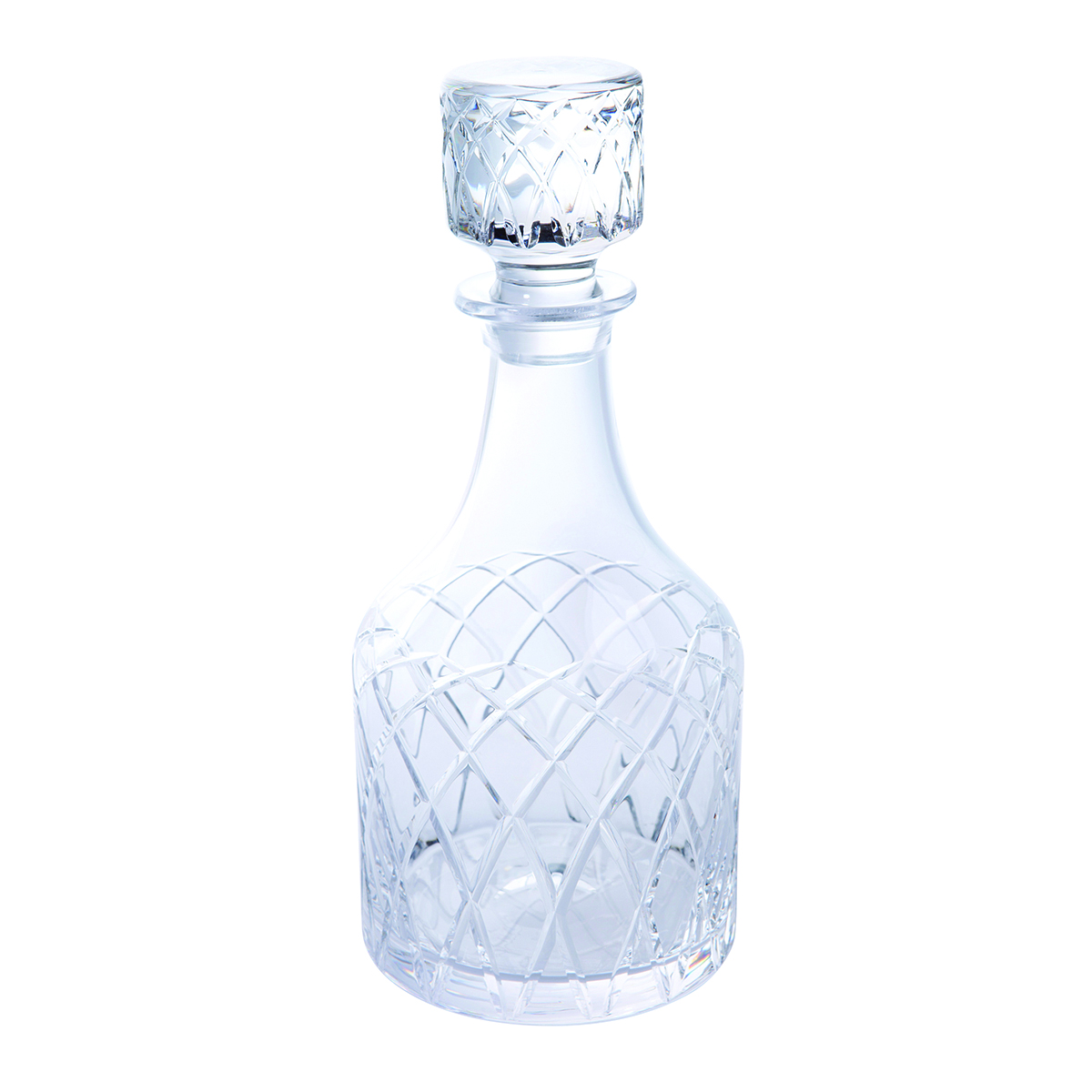 how to clean waterford crystal decanter