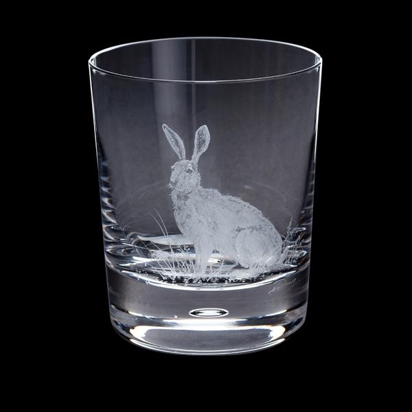Dartington Engraved Hare Tumbler