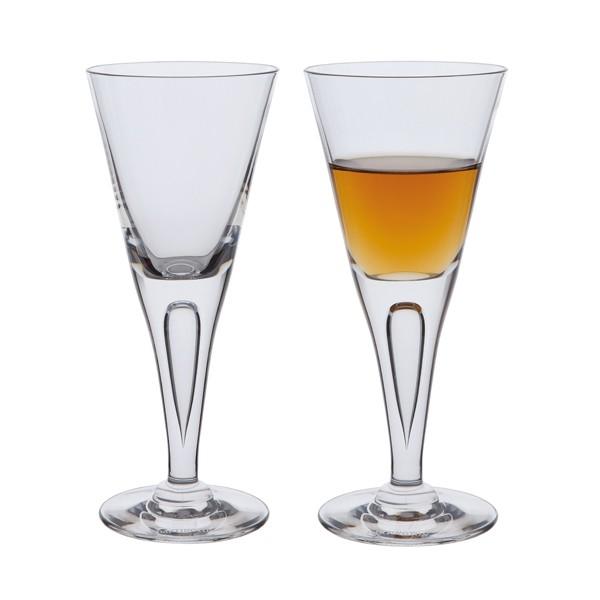 Dartington Sharon Sherry Glass Pair