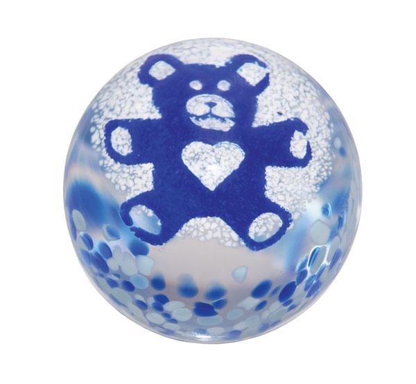 Dartington Precious Moments  Teddy Bear Blue
