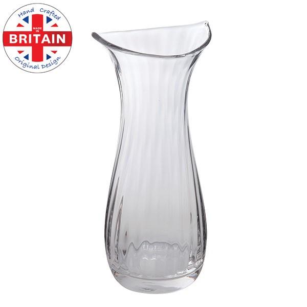 Large Clear Smile Vase