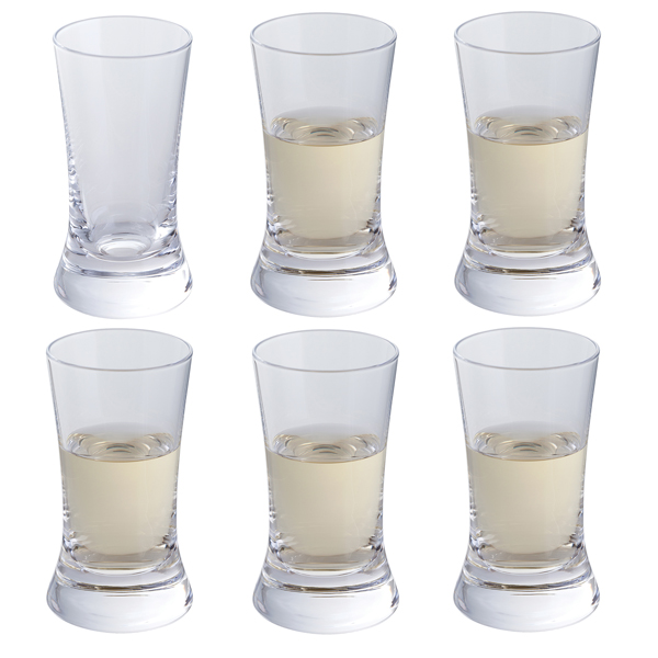 Dartington Wine & Bar Shot Glass 6 Pack