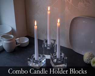 Combo Candle Holder Blocks