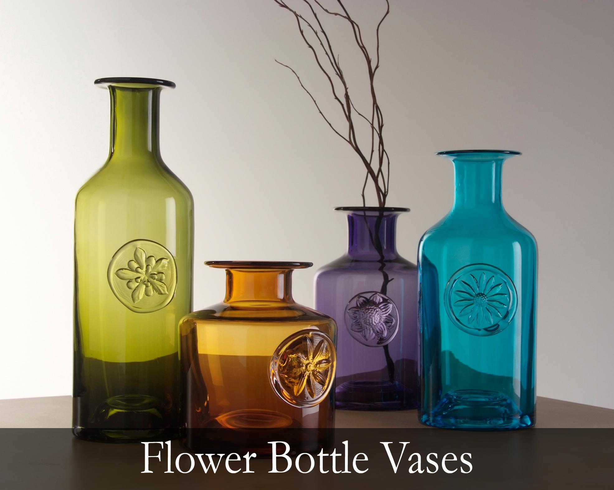 Flower Bottle Vases