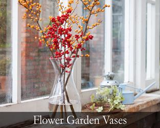 Flower Garden Vases