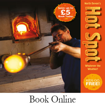 Book Online | Dartington Crystal Visitor Centre