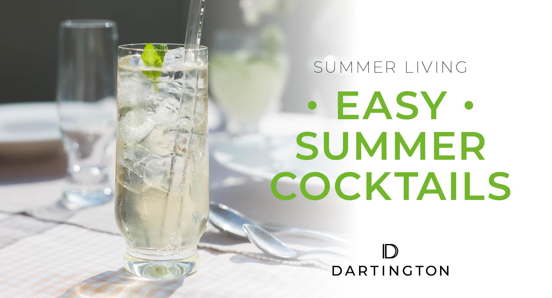 Summer Living – Easy Summer Cocktails