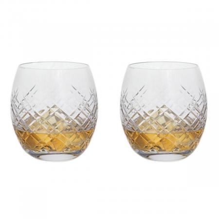 Highland Cut Whisky Tumbler Pair