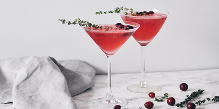 The Drinks Cabinet: Cranberry and Thyme Gin