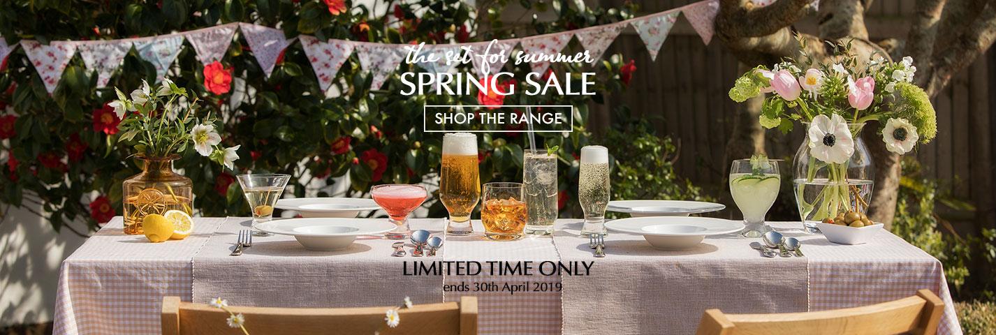 Shop Dartington Crystal Spring Sale